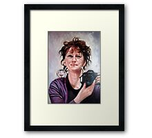 portrait of Ellen Framed Print