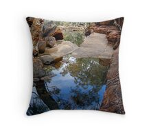 Reflections in Kings Canyon. Throw Pillow