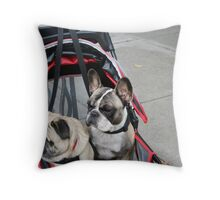Pram Time Throw Pillow