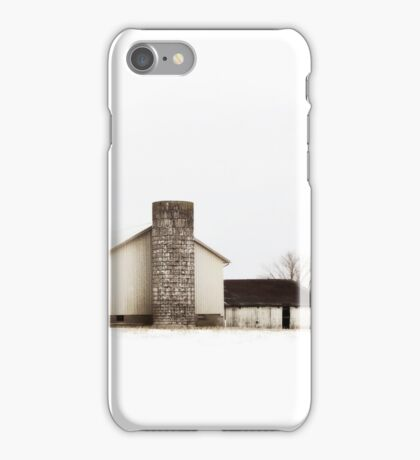 Lonely Barn iPhone Case/Skin