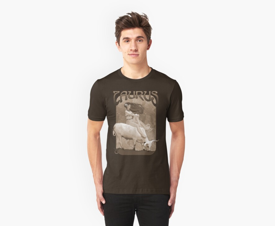Taurus t-shirt by Ivy Izzard