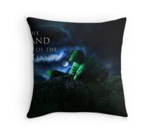 The Land Of The Giants Throw Pillow