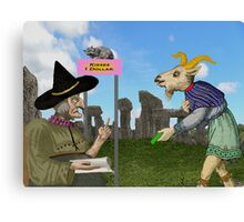 Silly Old Goat. Canvas Print