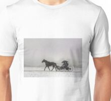 Romantic Buggy Ride In The Snow Unisex T-Shirt
