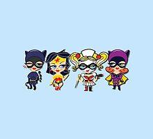 DC Girls by ladylove4u
