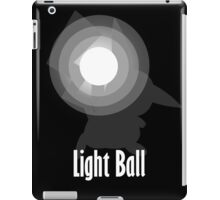 Light Ball in Black and White iPad Case/Skin