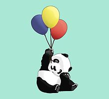 Panda's Happy Day by Nathanael Mortensen