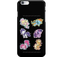 The Mane Six iPhone Case/Skin