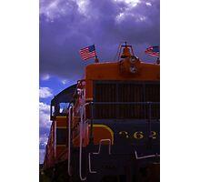 patriot rails Photographic Print