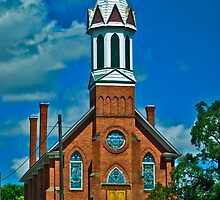 Mary Queen of Heaven Parish, Sprague, Washington by Bryan D. Spellman