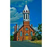 Mary Queen of Heaven Parish, Sprague, Washington Photographic Print