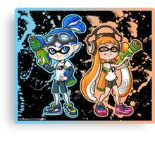 Splatoon Canvas Print