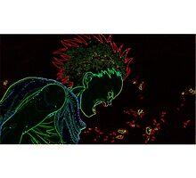 Akira - Tetsuo - Neon Rage by JSThompson
