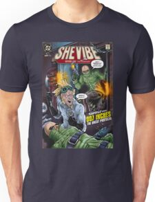 SheVibe Presents - Tantus in 007 Inches: The Uncut Protocol Cover Art Unisex T-Shirt