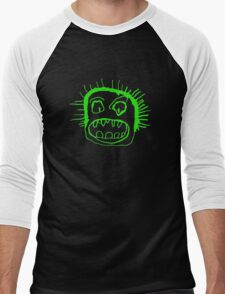 Portrait - lime Men's Baseball ¾ T-Shirt