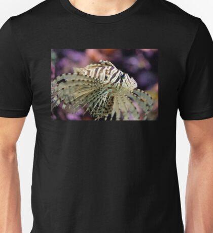Red lionfish Pterois volitans Unisex T-Shirt