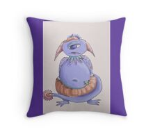 Winter Weight Monster Throw Pillow