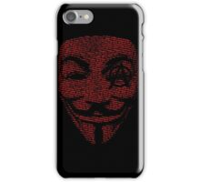 Anonymous Anarchy  iPhone Case/Skin