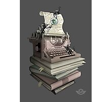 Bookworm Photographic Print