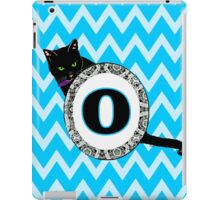 O Cat Chevron Monogram iPad Case/Skin