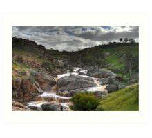 Mannum Waterfalls Art Print