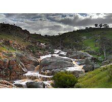 Mannum Waterfalls Photographic Print