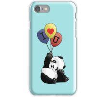 I Love You Panda iPhone Case/Skin