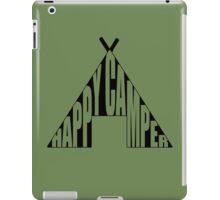 Happy Camper. iPad Case/Skin
