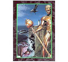 Bronze Watchman Photographic Print