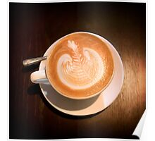 An image of Latte Poster