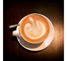 An image of Latte Photographic Print