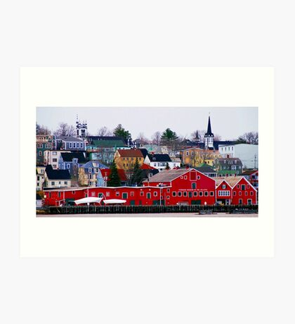Lunenburg Waterfront Art Print