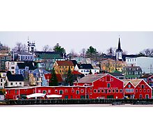 Lunenburg Waterfront Photographic Print