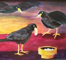 """""""The Offering"""", Acrylic on canvas by Jean LeBaron"""
