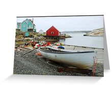 Quiet Harbour Greeting Card
