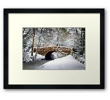 A Winter's day Framed Print