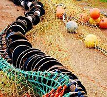 Drying the Nets by Nancy Barrett