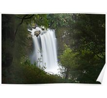 Hopetoun Falls from above Poster