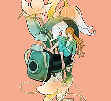 Thumbelina - Peach by BlancaJP