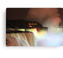 Niagara at Night! Canvas Print