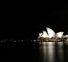 Night Opera House Glow by JJImagery