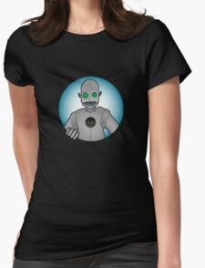 Robot! Womens Fitted T-Shirt