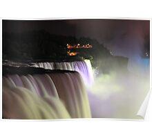 Niagara at Night! Poster