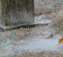 Cold Cemetery Sticker