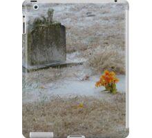 Cold Cemetery iPad Case/Skin