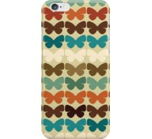 Retro Butterflies iPhone Case/Skin