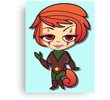 Squirrel Girl by Lady Love Canvas Print