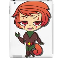 Squirrel Girl by Lady Love iPad Case/Skin