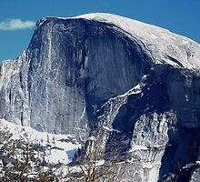 Half Dome in Early Winter by Michael Lehman
