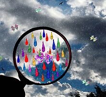 Simple Rain-Bow by Tricia Winwood